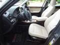 2012 BMW X3 Oyster Interior Front Seat Photo