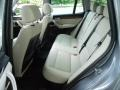 2012 BMW X3 Oyster Interior Rear Seat Photo