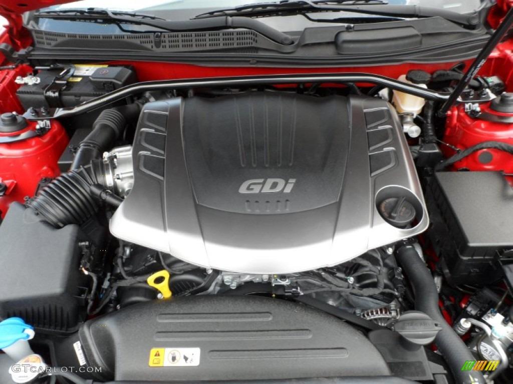 2013 Hyundai Genesis Coupe 3 8 R Spec Engine Photos