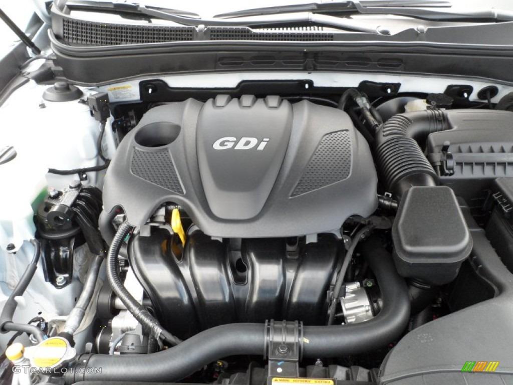 2013 Hyundai Sonata Se 2 4 Liter Dohc 16
