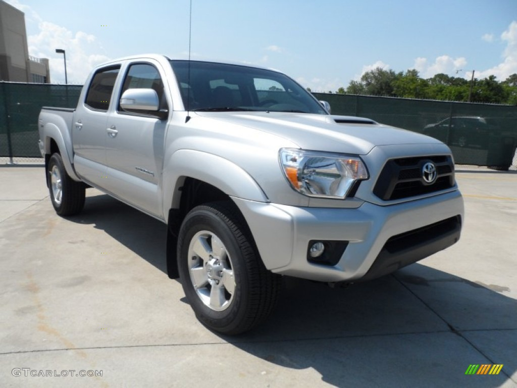 Silver streak mica 2013 toyota tacoma v6 trd sport double for Mccurley mercedes benz