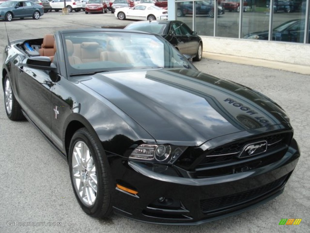 black 2013 ford mustang v6 premium convertible exterior photo 64863662. Black Bedroom Furniture Sets. Home Design Ideas