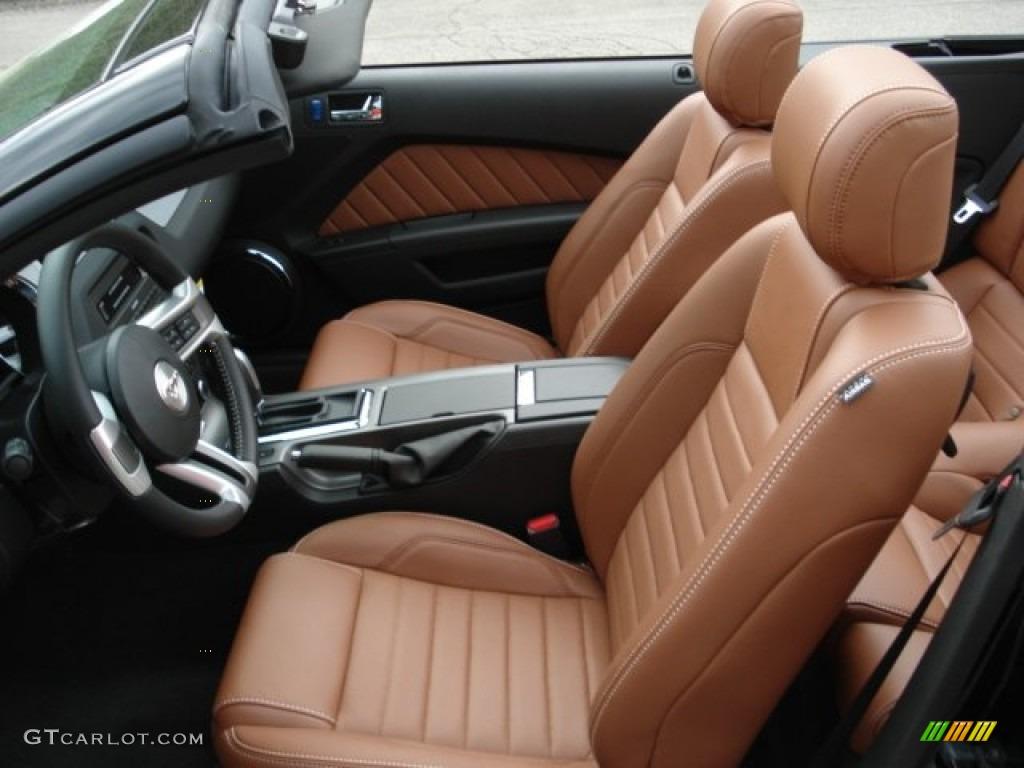 saddle interior 2013 ford mustang v6 premium convertible photo 64863719