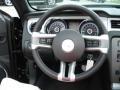 2013 Ford Mustang Saddle Interior Steering Wheel Photo