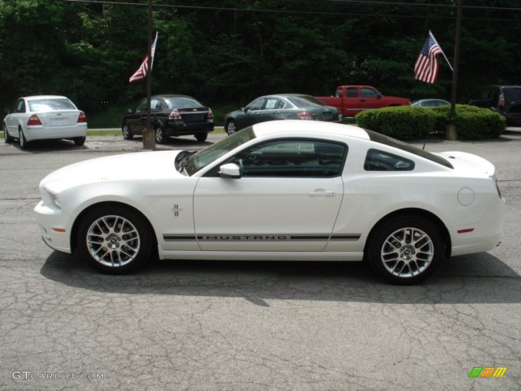 performance white 2013 ford mustang v6 premium coupe exterior photo 64863809