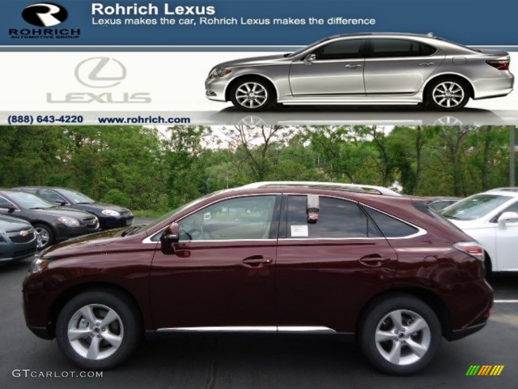 2013 claret red mica lexus rx 350 awd 64869998 gtcarlot. Black Bedroom Furniture Sets. Home Design Ideas