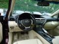 Parchment/Espresso Birds Eye Maple Dashboard Photo for 2013 Lexus RX #64877405