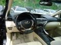 Parchment/Espresso Birds Eye Maple Dashboard Photo for 2013 Lexus RX #64877563