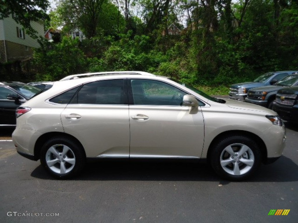 Satin Cashmere Metallic 2013 Lexus RX 350 AWD Exterior Photo #64878146 | GTCarLot.com