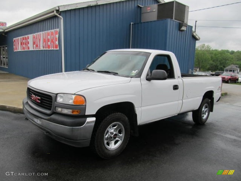 Arctic white gmc sierra 1500