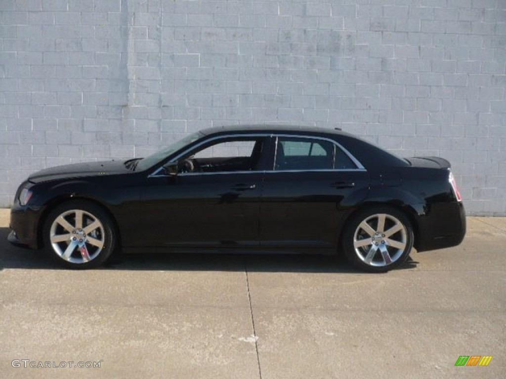 2012 Gloss Black Chrysler 300 Srt8 64869960 Car Color Galleries