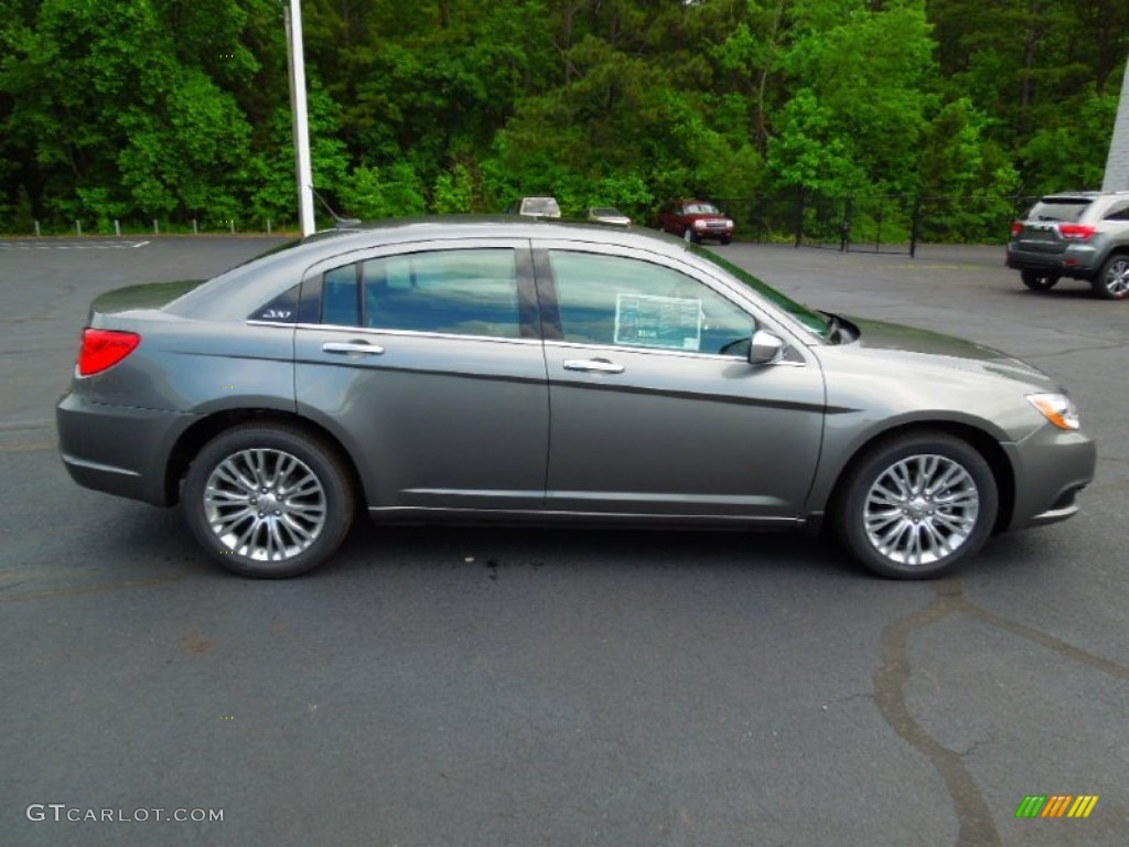 Tungsten Metallic 2012 Chrysler 200 Limited Sedan Exterior Photo 64881935