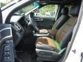 Pecan/Charcoal Black 2013 Ford Explorer Limited Interior