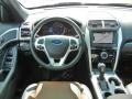 Pecan/Charcoal Black Dashboard Photo for 2013 Ford Explorer #64888538