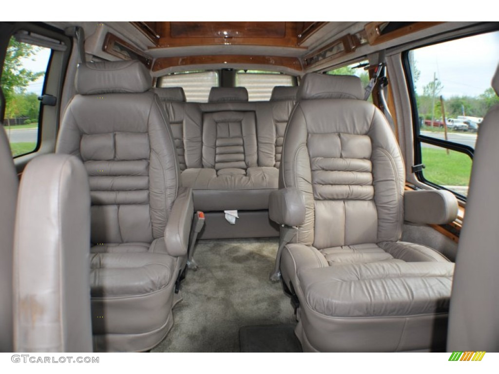 1999 Gmc Savana Van G1500 Penger Conversion Rear Seat Photo 64903199