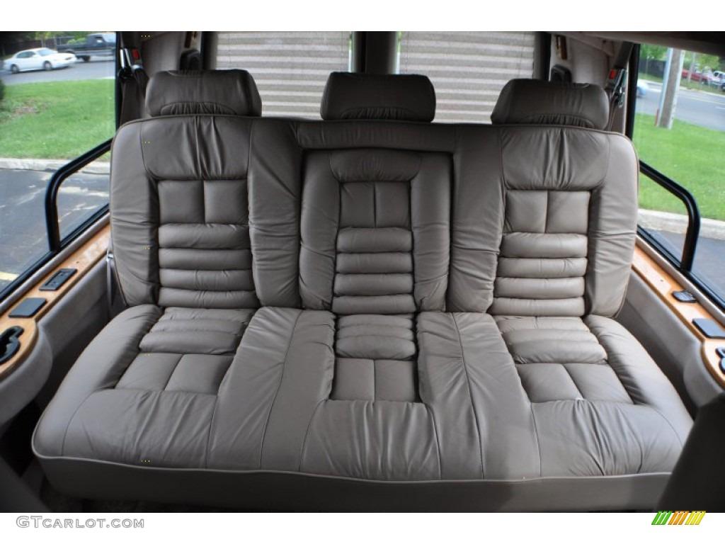 1999 GMC Savana Van G1500 Passenger Conversion Rear Seat Photo 64903249