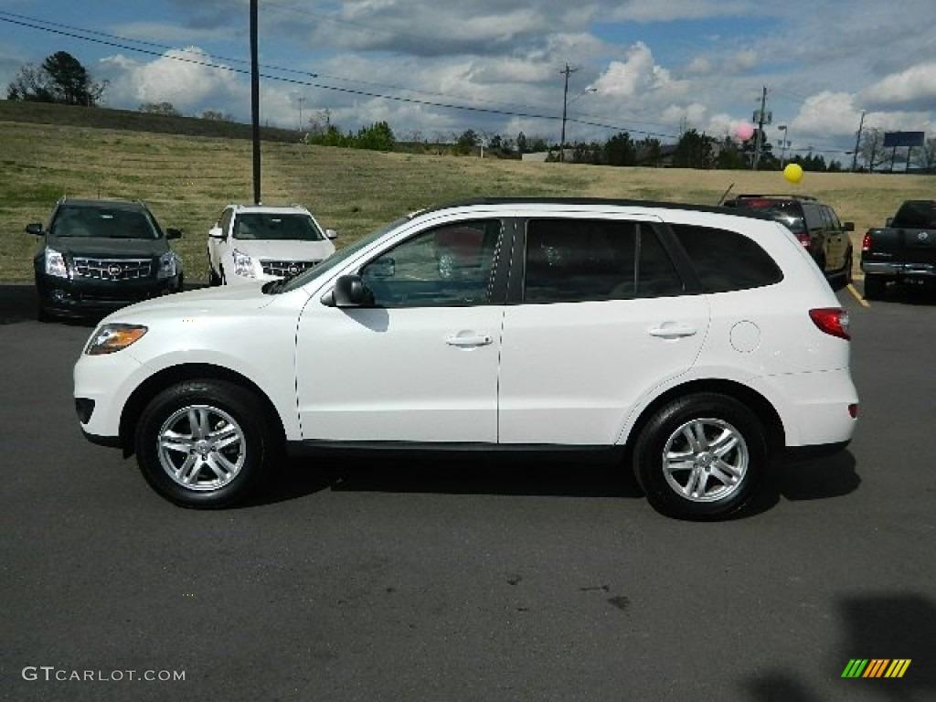 Frost White Pearl 2011 Hyundai Santa Fe Gls Exterior Photo 64913661 Gtcarlot Com