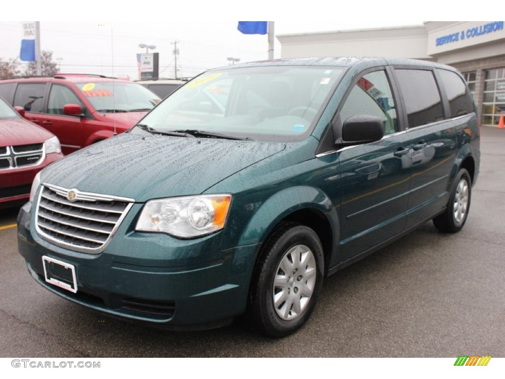 2009 melbourne green pearl chrysler town country lx 64870336 car color galleries. Black Bedroom Furniture Sets. Home Design Ideas