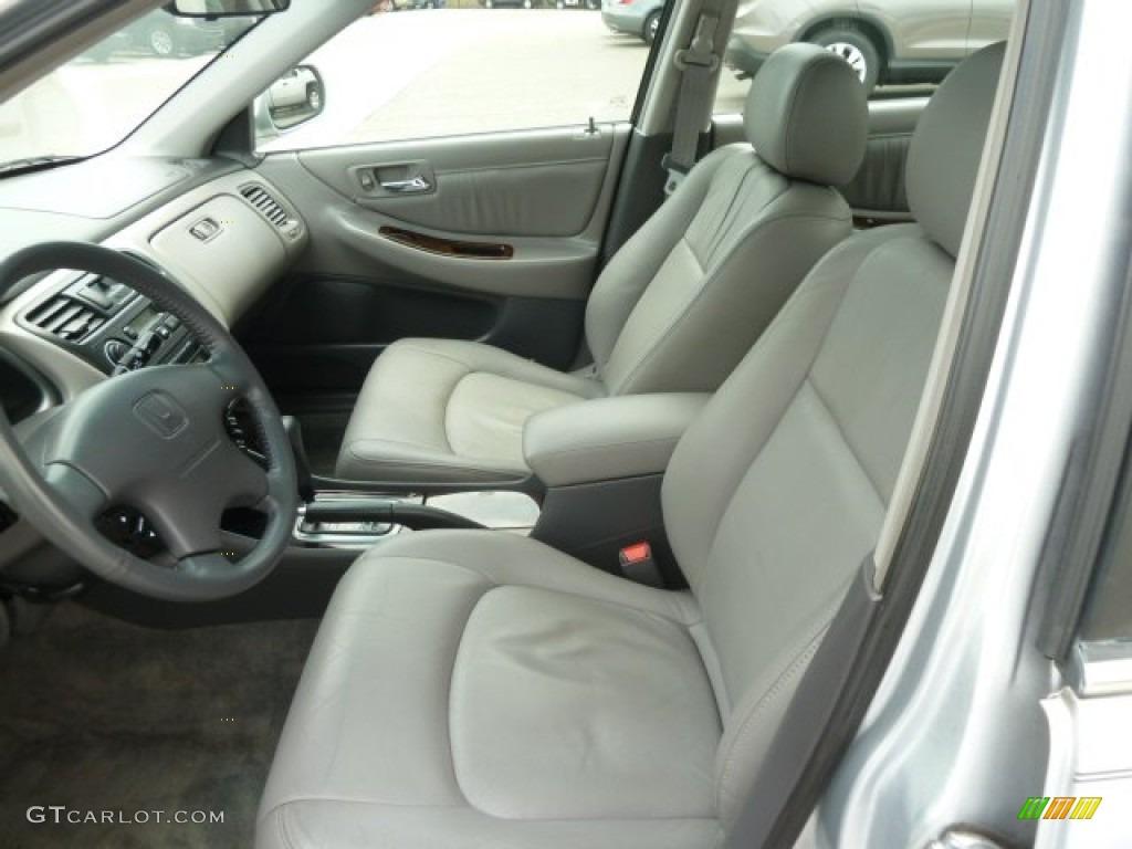 2001 Satin Silver Metallic Honda Accord Ex V6 Sedan 64925012 Photo 10 Car