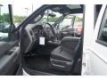 2012 White Platinum Metallic Tri-Coat Ford F250 Super Duty Lariat Crew Cab 4x4  photo #8