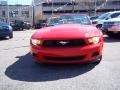 2011 Race Red Ford Mustang V6 Premium Convertible  photo #2