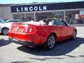 2011 Race Red Ford Mustang V6 Premium Convertible  photo #4