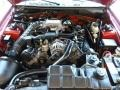 2000 Laser Red Metallic Ford Mustang GT Convertible  photo #16