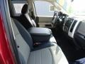 2011 Deep Cherry Red Crystal Pearl Dodge Ram 1500 SLT Quad Cab 4x4  photo #13