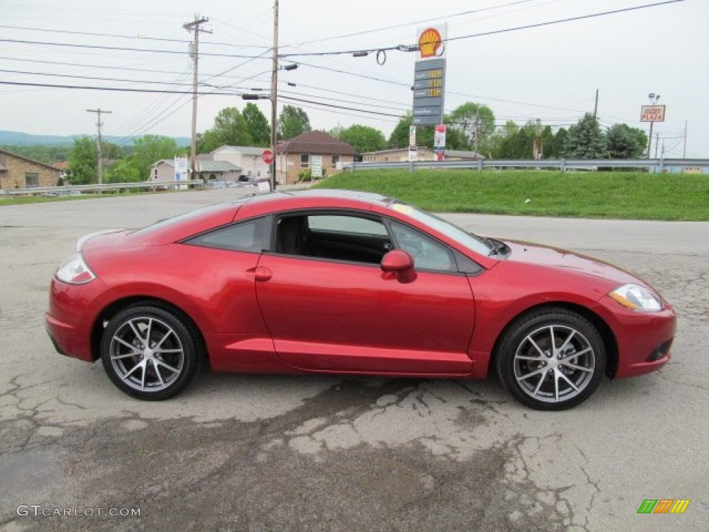 rave red 2012 mitsubishi eclipse gs sport coupe exterior photo 64947598. Black Bedroom Furniture Sets. Home Design Ideas