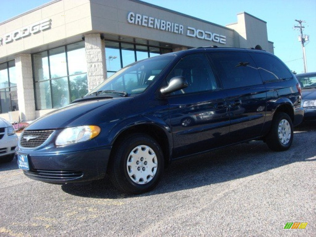 2003 midnight blue pearl chrysler town country lx. Black Bedroom Furniture Sets. Home Design Ideas