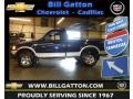True Blue Metallic 2002 Ford F150 XLT Regular Cab 4x4
