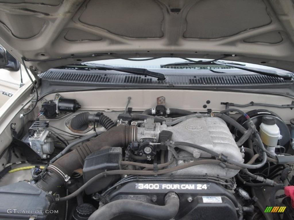2003 Toyota Tacoma V6 Trd Xtracab 4x4 3 4 Liter Dohc 24