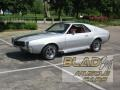 Turbo Silver Metallic 1968 AMC AMX 390