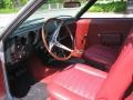 1968 AMX 390 Red Interior