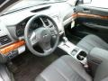 Off Black 2012 Subaru Legacy Interiors