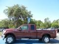 2012 Autumn Red Metallic Ford F250 Super Duty XLT SuperCab 4x4  photo #2