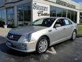 Light Platinum 2008 Cadillac STS 4 V8 AWD