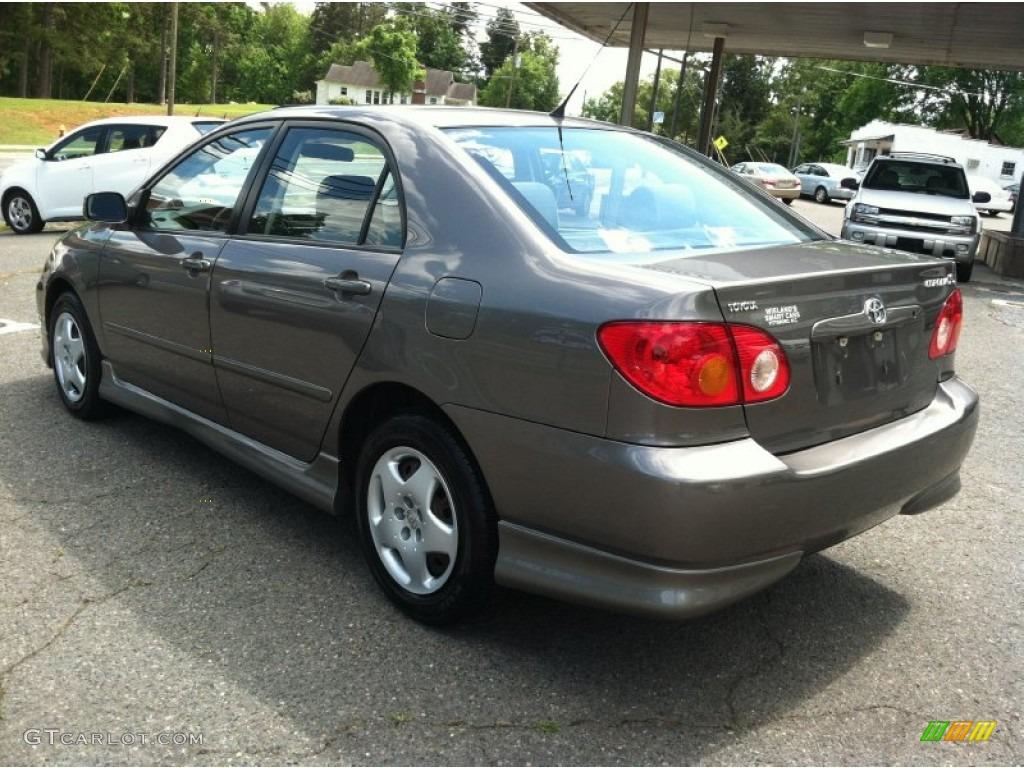 Toyota Corolla 2003 Black 2003 Toyota Corolla s