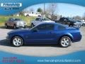 2007 Vista Blue Metallic Ford Mustang GT Deluxe Coupe  photo #1