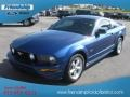 2007 Vista Blue Metallic Ford Mustang GT Deluxe Coupe  photo #2