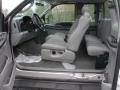 Medium Flint 2005 Ford F350 Super Duty Interiors