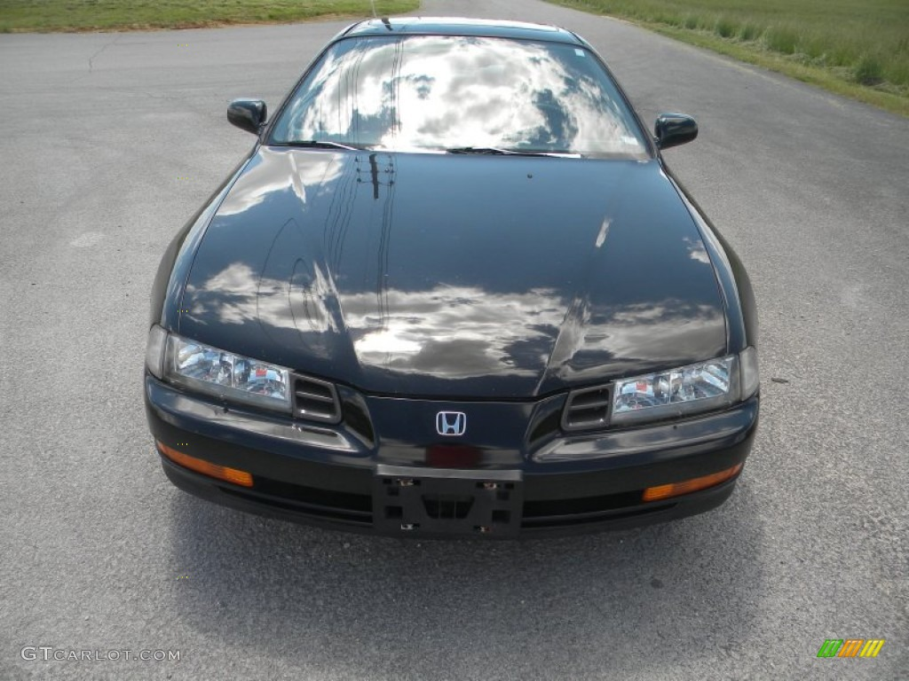 Granada Black Pearl Metallic 1992 Honda Prelude Si Exterior Photo 65018835