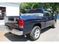 2006 Patriot Blue Pearl Dodge Ram 1500 SLT Quad Cab 4x4  photo #2
