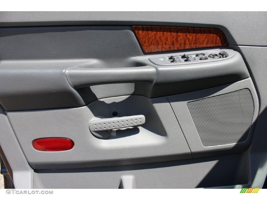 2006 Ram 1500 SLT Quad Cab 4x4 - Patriot Blue Pearl / Medium Slate Gray photo #7