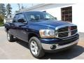 2006 Patriot Blue Pearl Dodge Ram 1500 SLT Quad Cab 4x4  photo #15