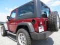 2012 Deep Cherry Red Crystal Pearl Jeep Wrangler Sport 4x4  photo #5