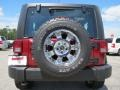 2012 Deep Cherry Red Crystal Pearl Jeep Wrangler Sport 4x4  photo #6