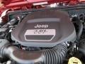 2012 Deep Cherry Red Crystal Pearl Jeep Wrangler Sport 4x4  photo #10
