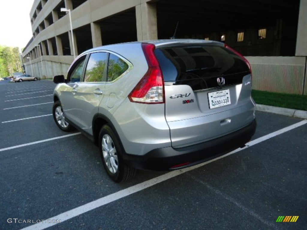 2012 CR-V EX 4WD - Alabaster Silver Metallic / Gray photo #5
