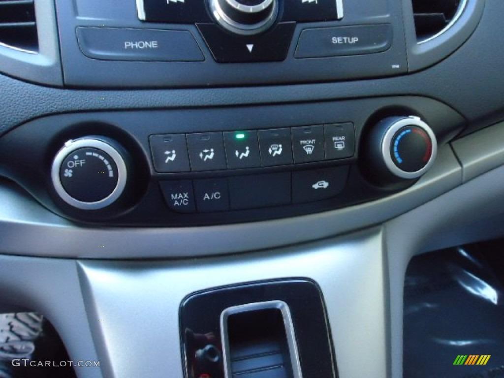 2012 CR-V EX 4WD - Alabaster Silver Metallic / Gray photo #27